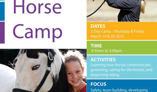 March Break Horse Camp 2015
